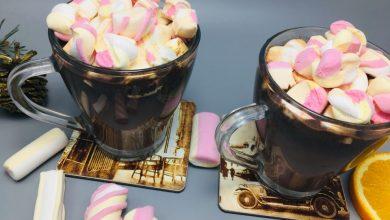 Ciocolata calda cu aroma de portocala