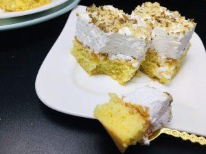 Prajitura cu crema caramel si nuca