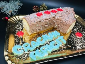 Tort Buturuga de Craciun sau Bûche de Noël