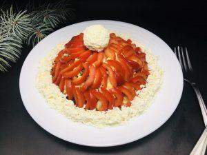 """Salata de Craciun """"Căciula Moșului"""""""